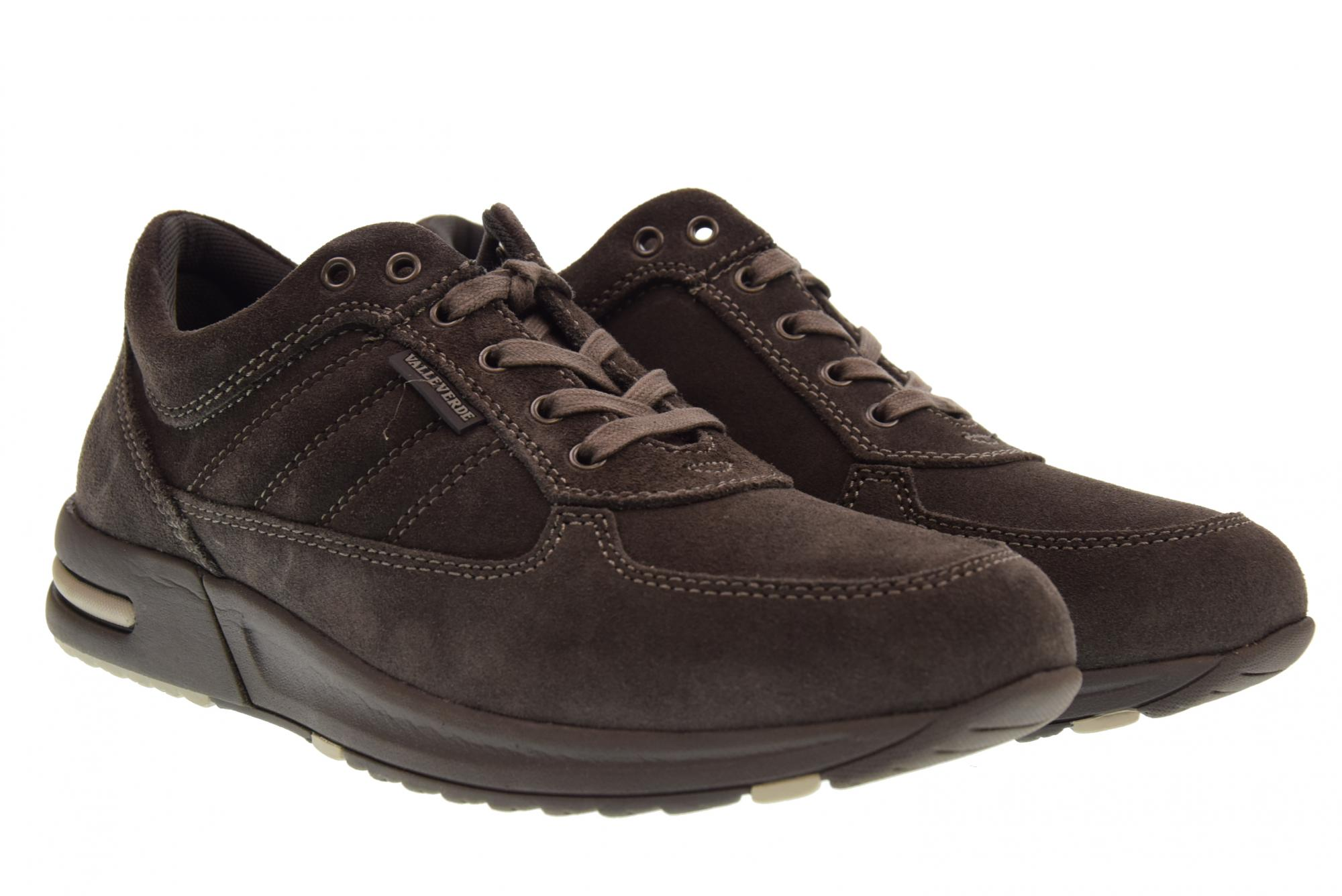 Valleverde A18f chaussures homme snaekers basse 17821 ANTRACITE
