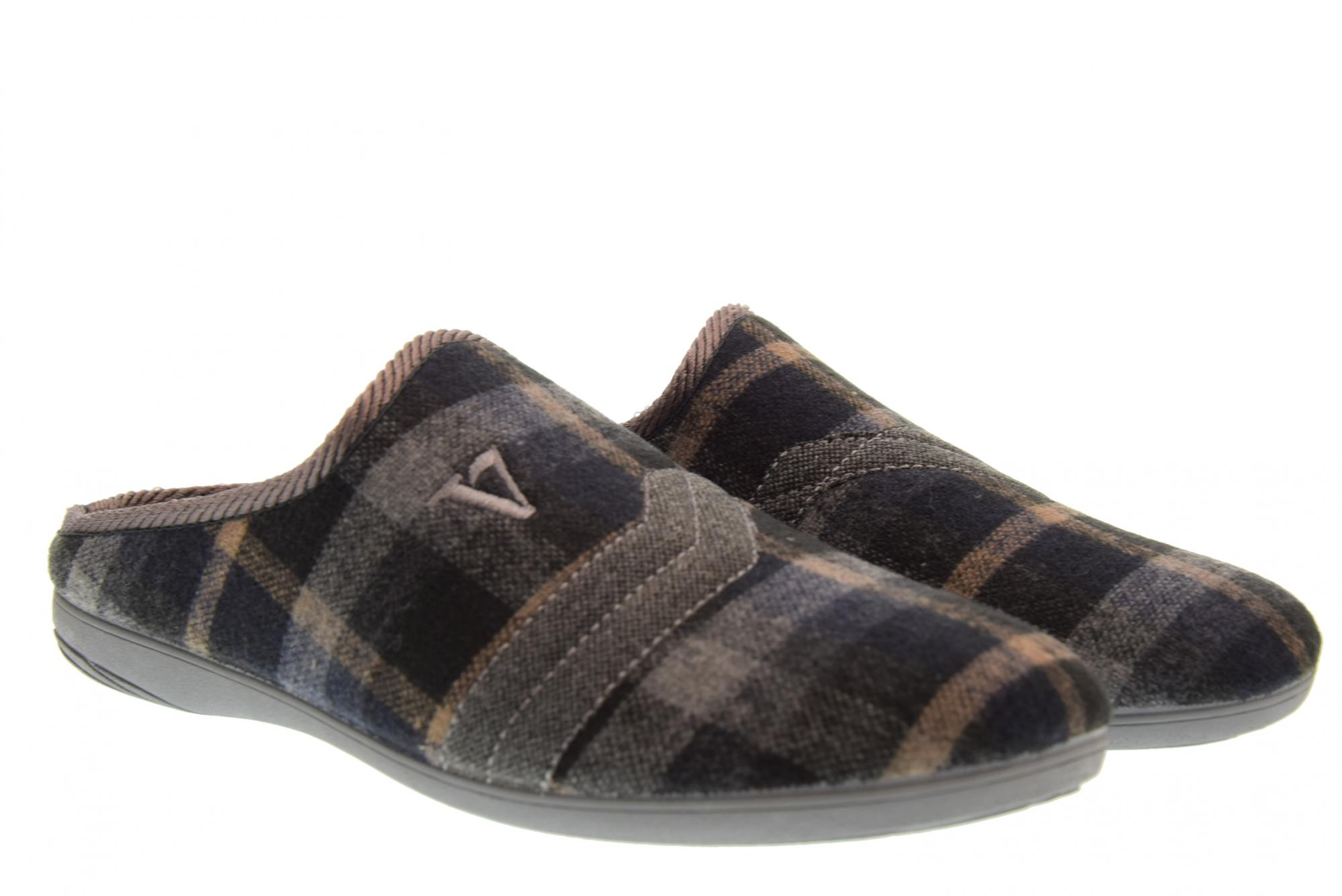 Valleverde A18f Chaussures Homme Chaussons 26811 Gris Durable Modeling Slippers