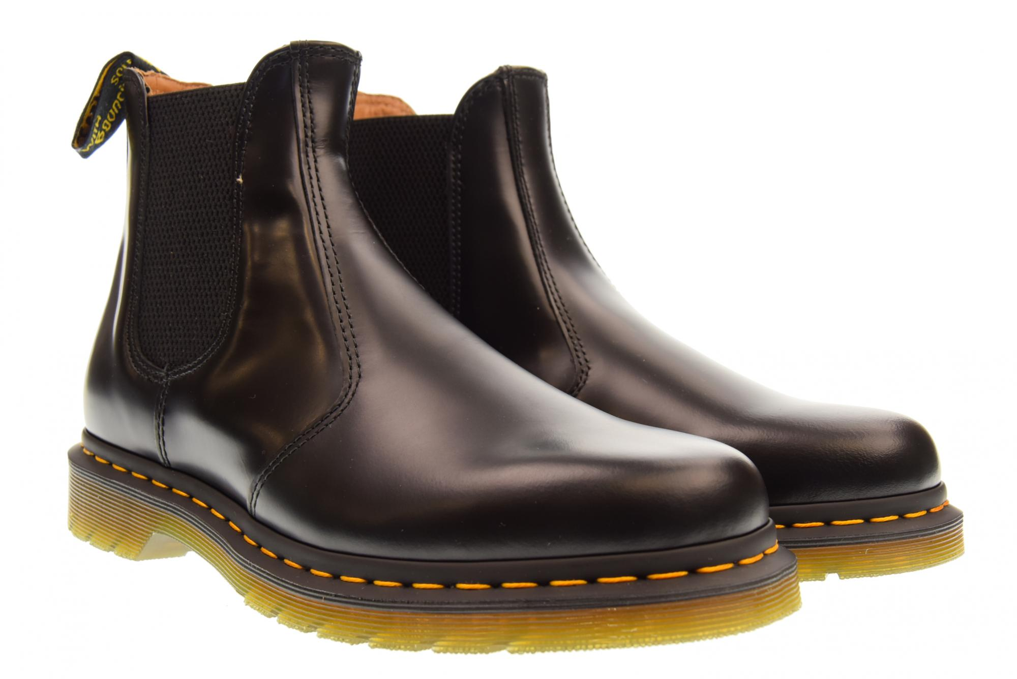NEW Mens Dr Martens 2976 Cherry Red Bush Leather Chelsea