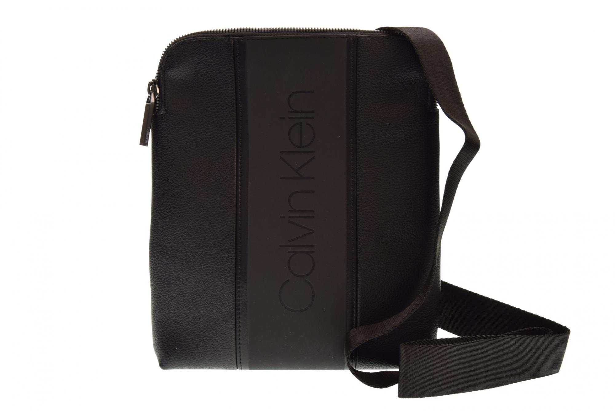 277348311c Details about Calvin Klein P19u shoulder bag man K50K504275 001 STRIKE FLAT  CROSSOVER