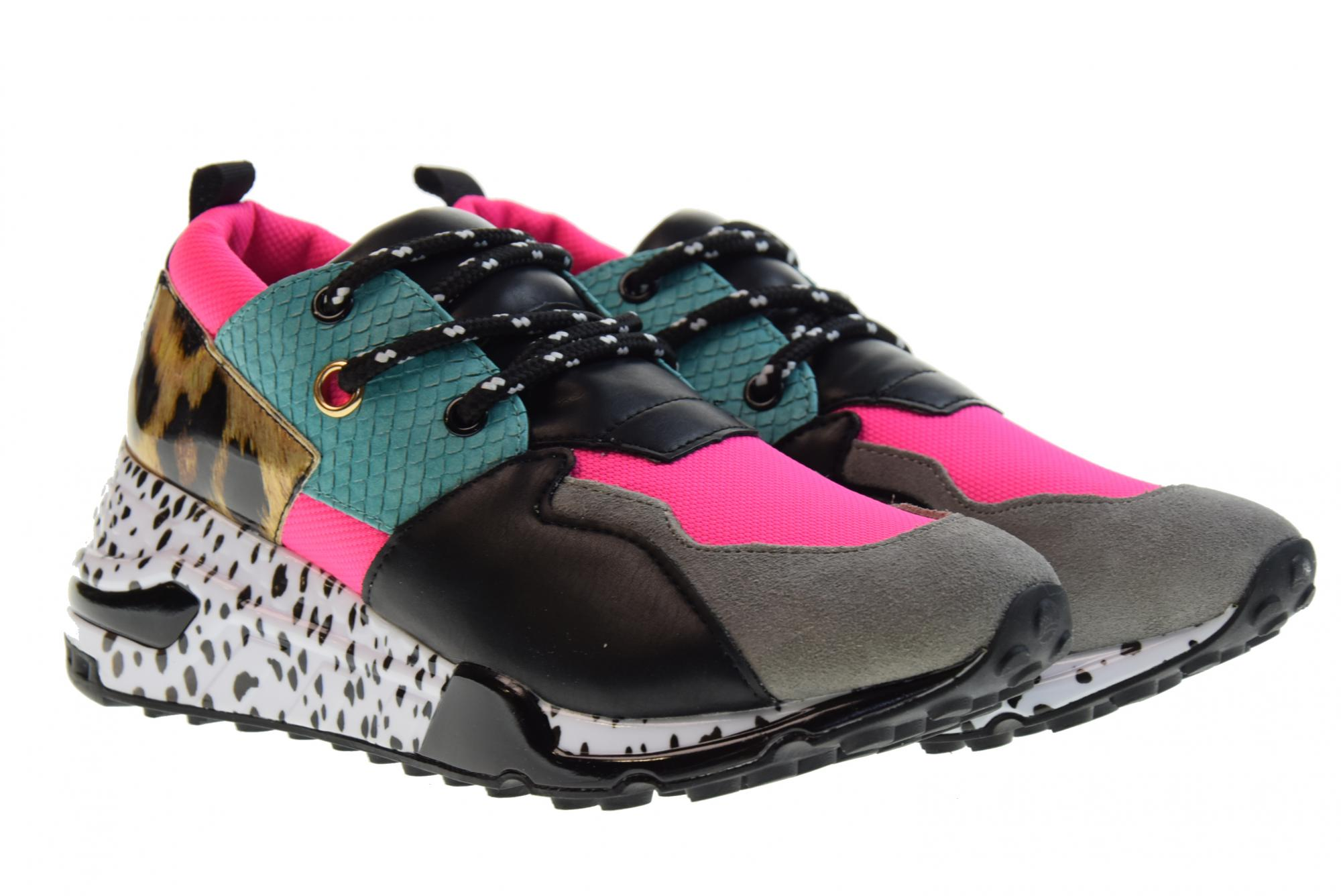 65906f44889 Details about Steve Madden P19u shoes woman sneakers CLIFF BRIGHT MULTI