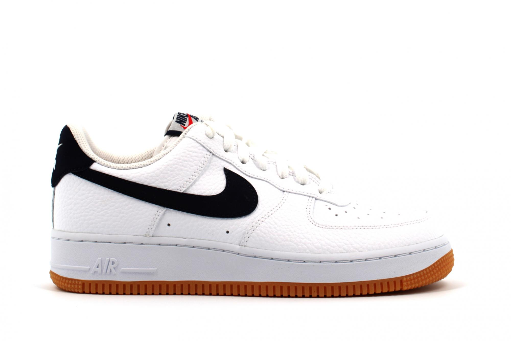 Nike Air Force 1 High Blanc-Orange Women/'s Trainers Limited Stock Toutes Tailles
