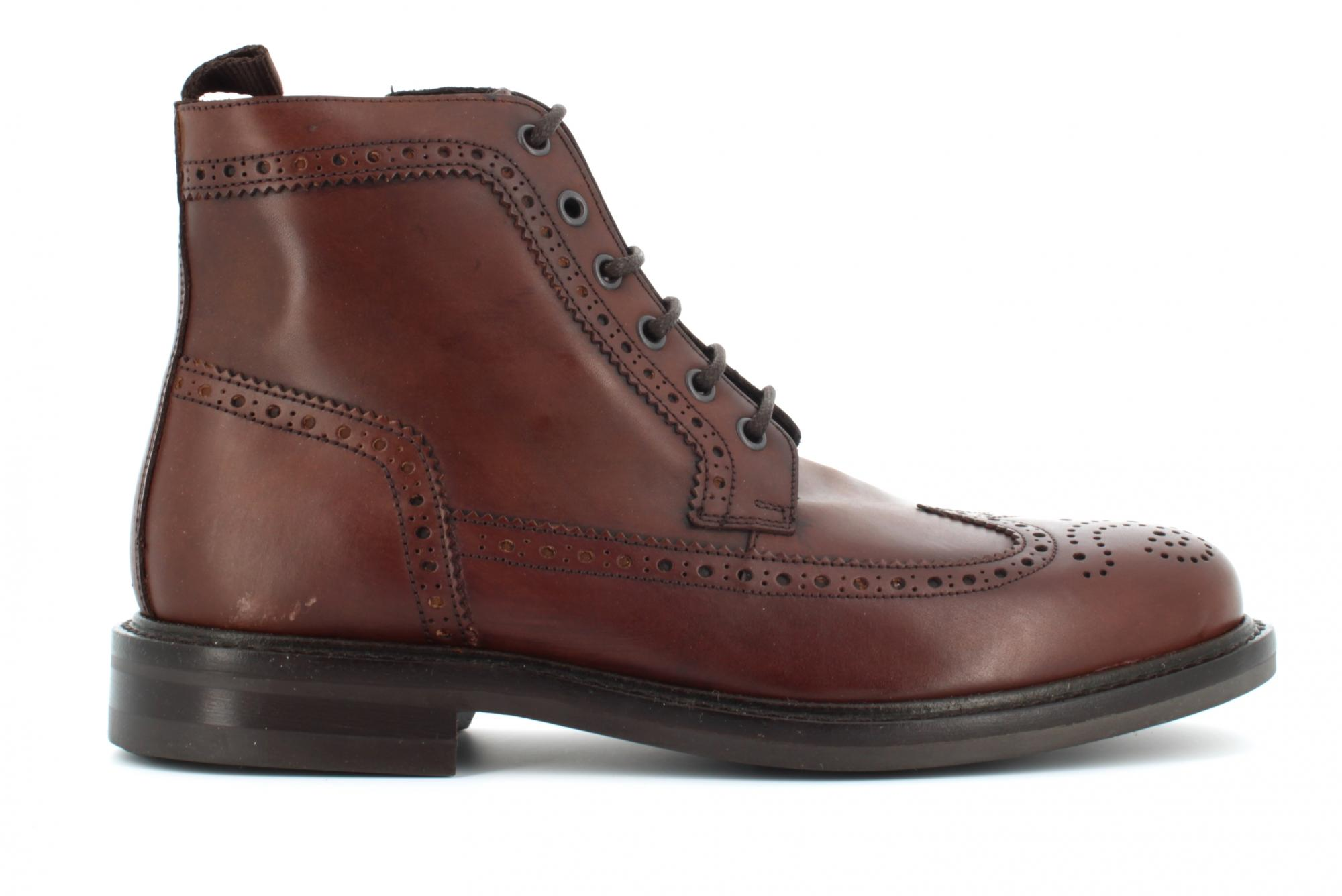 Antica Cuoieria A19f Chaussures Homme Bottes Inglesina 20620-t-v68 Batisfera