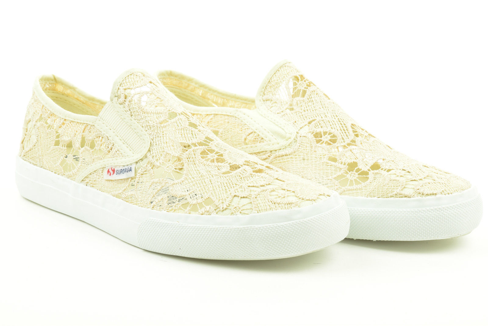SUPERGA donna S009TH0 K13 slip on 2311 MACRAMEW P15