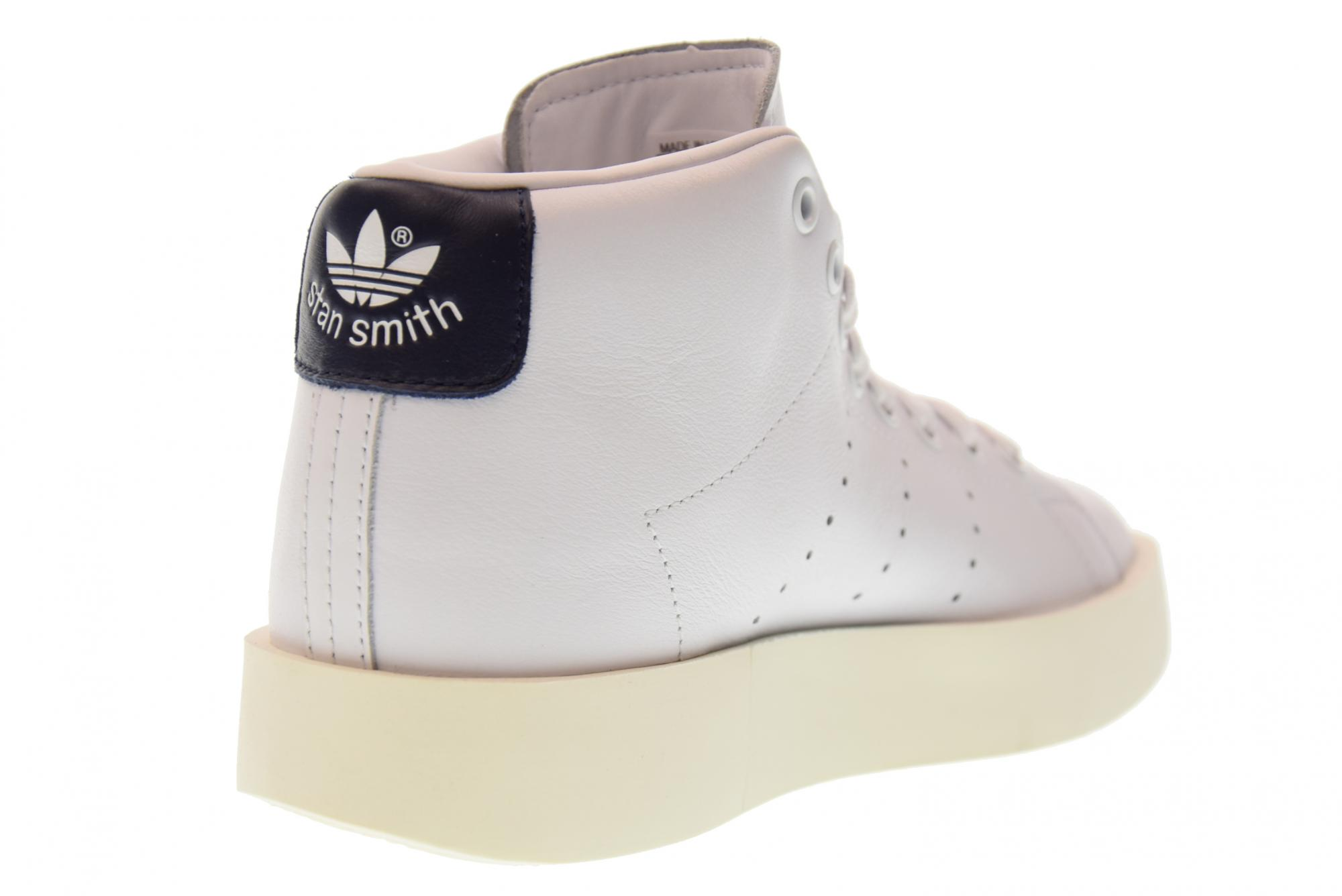 Adidas SMITH A17g BY9664 alta plataforma zapatillas botas STAN SMITH Adidas MID negrita 3f8e99