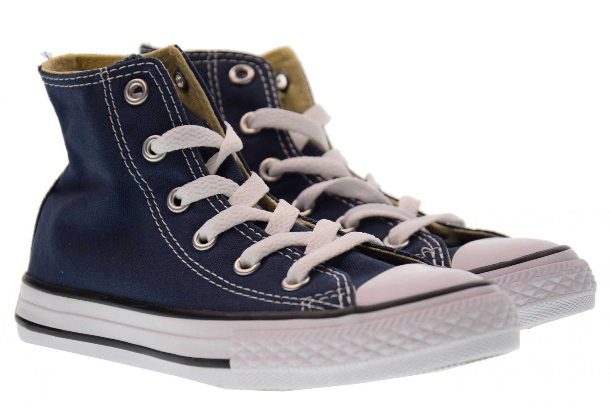 best service aeb55 be9cf Details about Converse P18u baby shoes / or high sneakers 3J233C YTHS C / T  ALLSTAR HI BLU