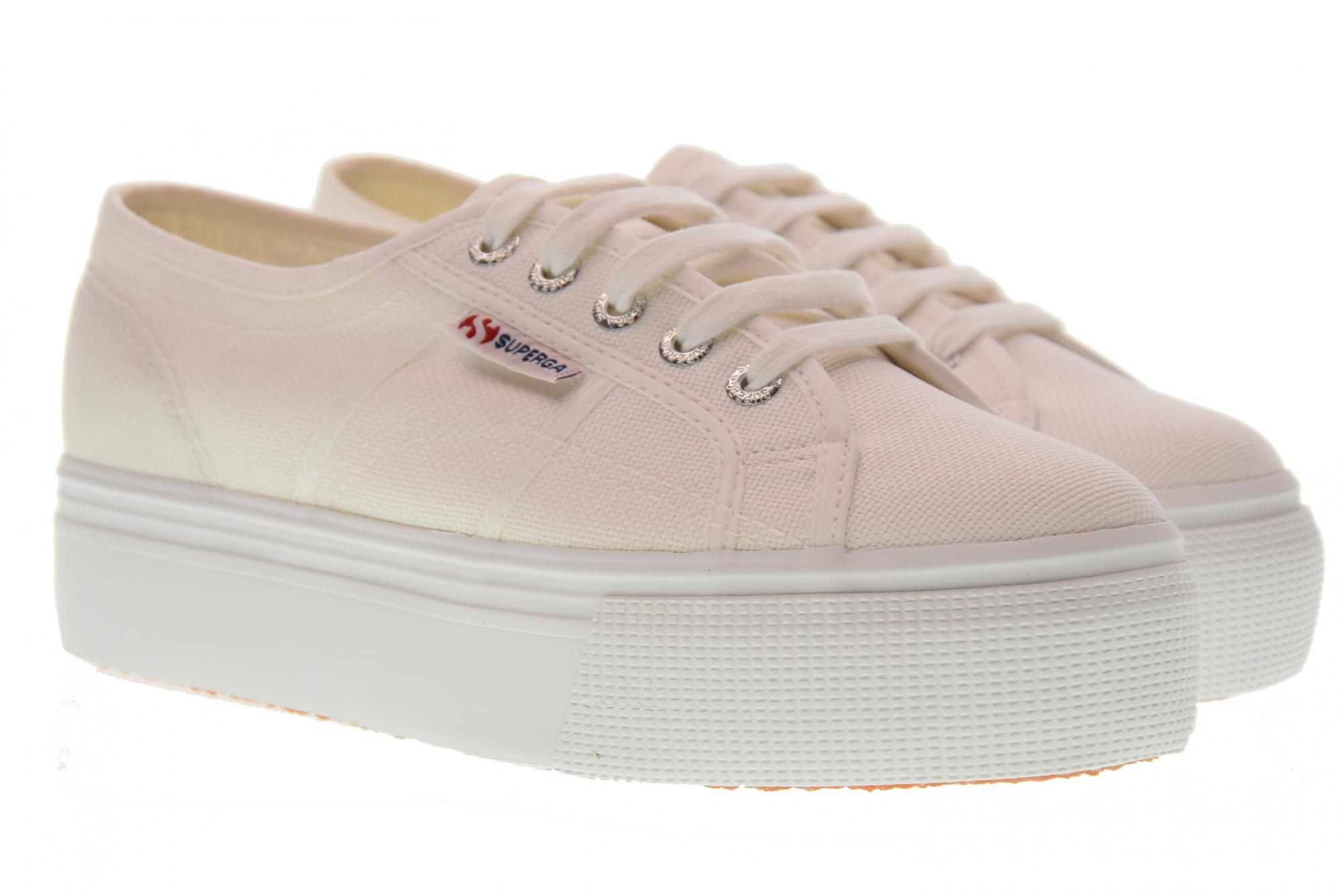 Superga scarpe donna sneakers piattaforma S0001L0 901 2790A COTW UP AND DOWN P18